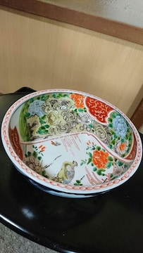 …元禄前→時代〜古伊万里〜唐獅子〜舞孔雀赤絵鉢