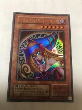 遊戯王 ブラック・マジシャン・ガール P4-01 ウルトラ 枠ズレ