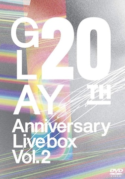 GLAY 20th Anniversary LIVE BOX VOL.2 [DVD]