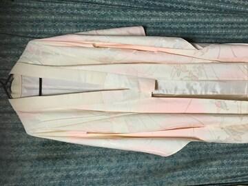 大きいサイズ。とっても素敵な長襦袢。振袖用。正絹。ピンク