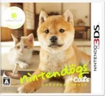 <3DS>Nintendogs柴+cats 3D新品*未開封