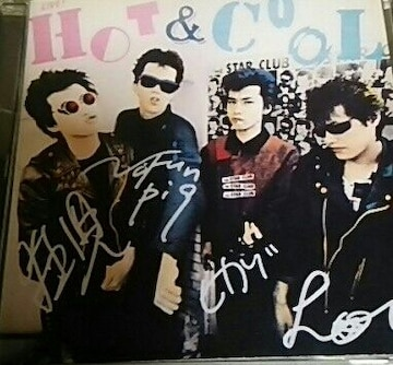 CD THE STAR CLUB LIVE HOT&COOL スタークラブ
