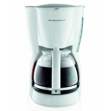 コーヒーメーカー 12カップ ホワイト