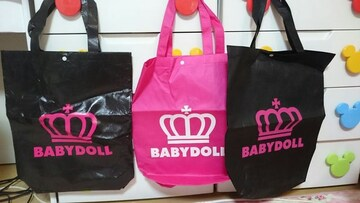 BABYDOLLトートバッグ☆3点セット☆新品未使用!