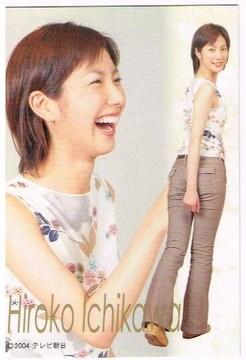 市川寛子 テレ朝公認トレカ 女子アナ