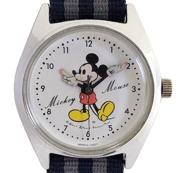 セイコーディズニータイムミッキーマウス腕時計手巻5000-700