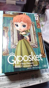 Qposket・ディズニー・アナ&エルサ・4種類セット
