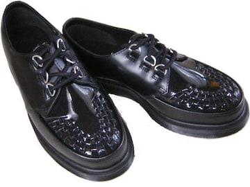 ドクターマーチンRAMSEYクリーパー14575001短靴 ローカットuk4