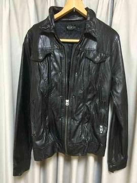 中古 ライダースジャケット ブラック 黒 Lサイズ