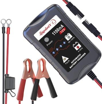 12Vバッテリー充電器 バッテリーチャージャー  3-30Ah用
