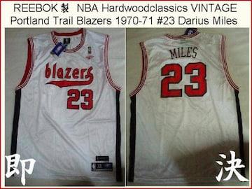 即決USA購入REEBOK製NBA70年代レトロ版 #23 D.マイルズUS XL新品