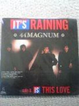 44MAGNUM●IT'S RAINING  アナログ