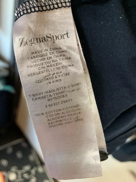 ゼニア スポーツ 長袖ポロシャツ X L < 男性ファッションの
