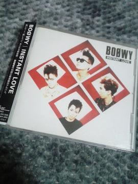 BOOWY アルバムCD INSTANT LOVE 帯付き