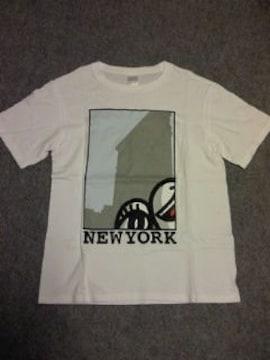 ナンバーナイン†ニューヨーク†イラスト風プリントTシャツ††