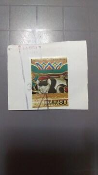 〔使用済み〕記念切手 東照宮 眠り猫 日本