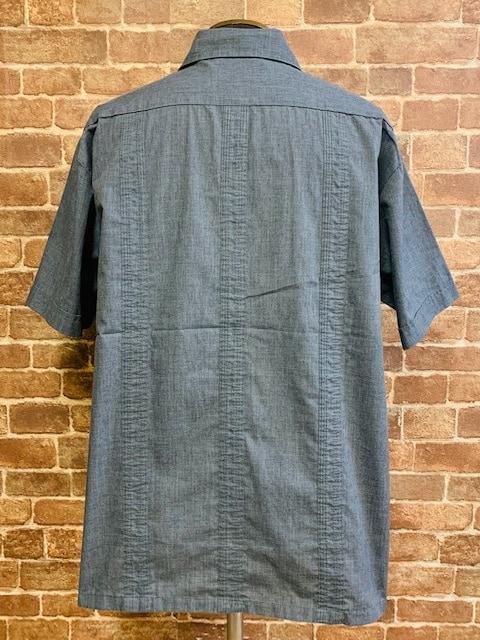 実寸XL/XXL!70s 80s ビンテージ ガイヤベラ キューバシャツ 古着 アメカジ サーフ < 男性ファッションの