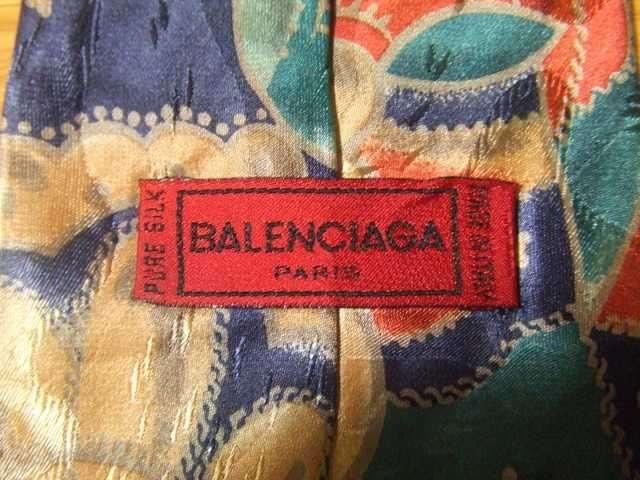 BALENCIAGA ネクタイ バレンシアガ ITALY イタリア < ブランドの