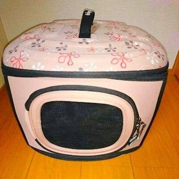 折り畳み キャリーバッグ 犬 猫 ペット ベッド バッグ ケージ