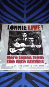 Lonnie live ! Rare tapes from the late sixties