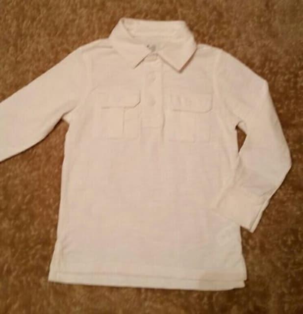 ★babyGap★長袖ポロシャツ/size110  < ブランドの