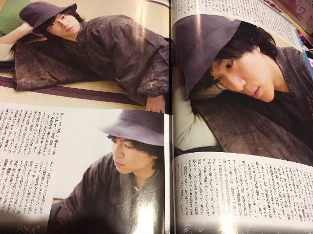 TVライフ 2018/11/7→30 加藤シゲアキくん 表紙 切り抜き < タレントグッズの