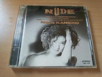 金子美香CD「NUDE」廃盤●