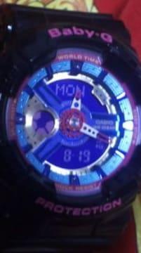 カシオBA-110シリーズビックケースレディースbaby-Gショック腕時計ネオンカラー