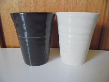 ∞ペアカップ*白と黒∞