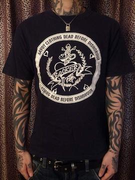 即決SAVOYCLOTHINGスカルタトゥーTシャツ!ロックンロールロカビリーパンクカウンターアクション