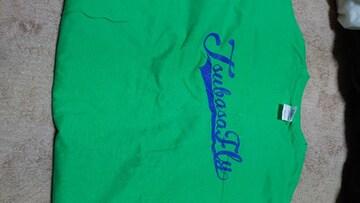つばさFLY Tシャツ 緑 XL 未使用