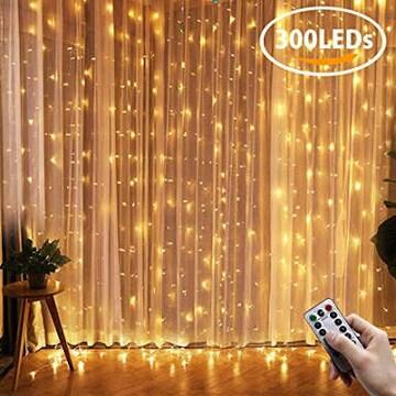 色3mx3m Kodi LED カーテンライト イルミネーションライト スト