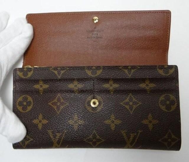 LOUIS VUITTON ルイヴィトン モノグラム ポルトフォイユ・サラ 長財布【送料無料】 < ブランドの
