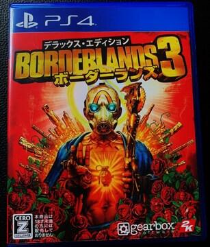 即決★ PS4 ボーダーランズ3 デラックスエディション