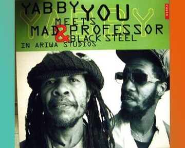 Yabby You Meets Mad Professor Ariwa 名盤 LP レゲエ