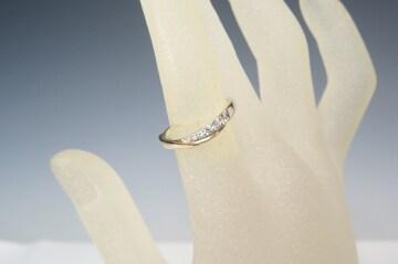 4℃ ヨンドシー #11 リング/指輪 ウェーブ