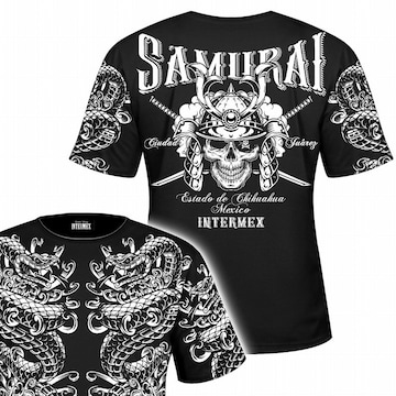 送料無料 メンズ オラオラ ギャング バイカー ヤクザ 半袖 Tシャツ 010黒 白 XL