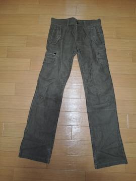シェラック SHELLAC ミリタリー系パンツ 44 カーゴ6ポケ