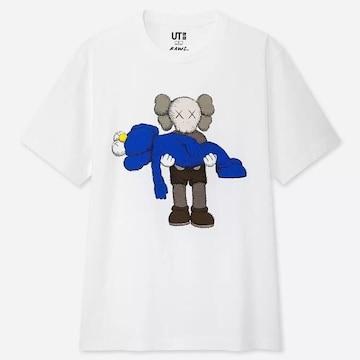 《 UNIQLO KAWS 》2019コラボ Tシャツ【サイズL】新品