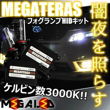 Mオク】ステップワゴンRG1/2/3/4系前期後期/フォグランプHIDキット/H11/3000K