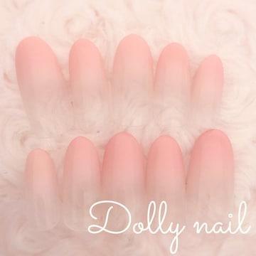 みぢょ!オーバル美爪シンプル肌馴染み◎ナチュラルピンクベージュ/グラデネイル