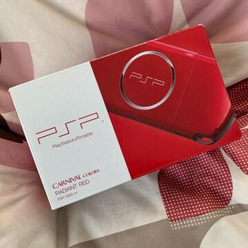 新品 PSP-3000 ラディアントレッド