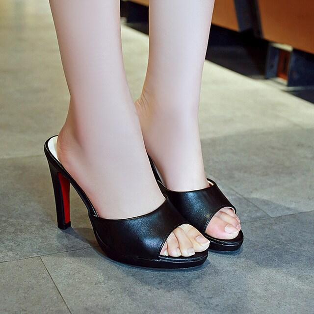 TK111即決 新品 サンダル 黒 24cm エスペランサ ダイアナ プールサイド 好きに < 女性ファッションの