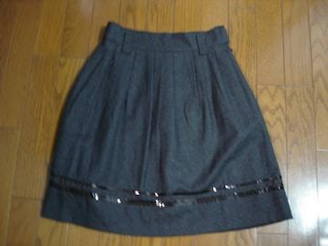 ★anysis エニィシィス 裾デザインウールスカート★ロペ
