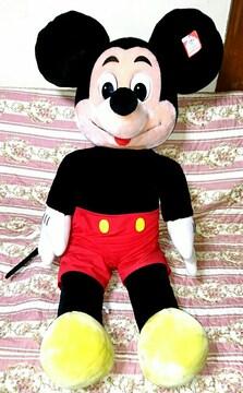 激レア 1970年 美品 初期 ディズニーワールド ミッキー BIG 特大