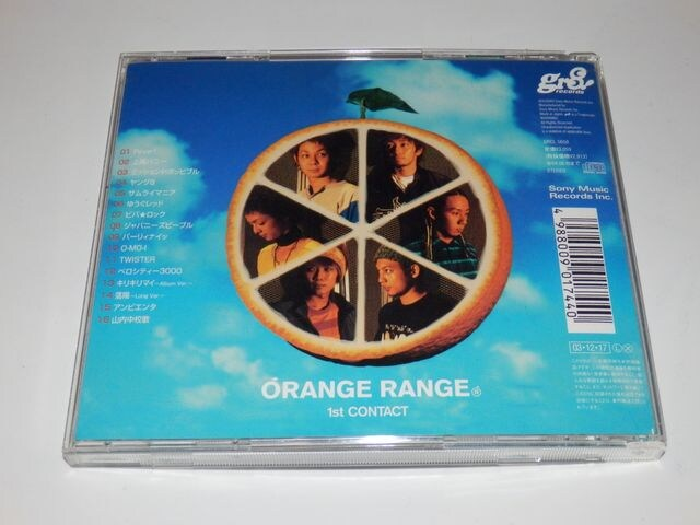 ♪ORANGE RANGE/1st CONTACT < タレントグッズの