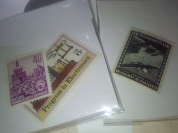 外国・未使用切手・3枚