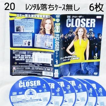 No.20【クローザー】6枚【DVD ゆうパケット送料 ¥180】