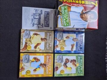 ビリーズブートキャンプ DVD4枚組 日本語字幕版 バンド付き