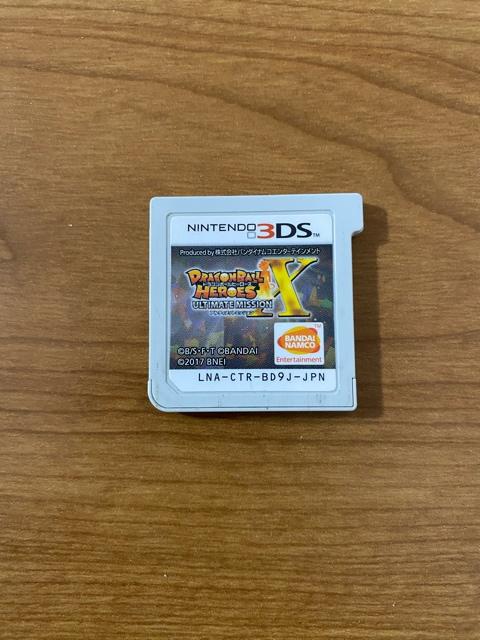 3DSソフト ドラゴンボールヒーローズX 中古品
